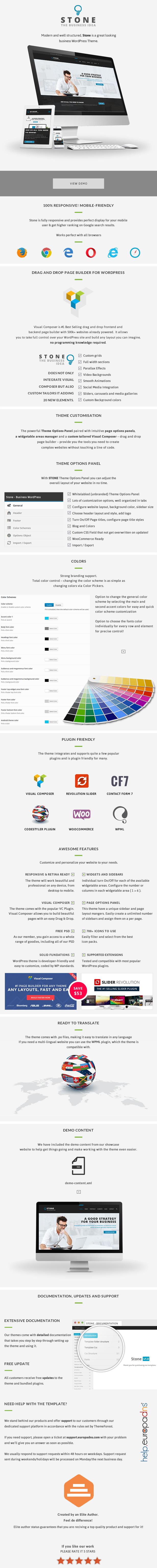 Stone - Responsive Business WordPress Theme